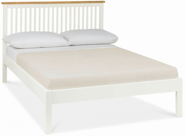 Bentley Designs Atlanta Two Tone Bedstead - 3ft Single Low Foot End