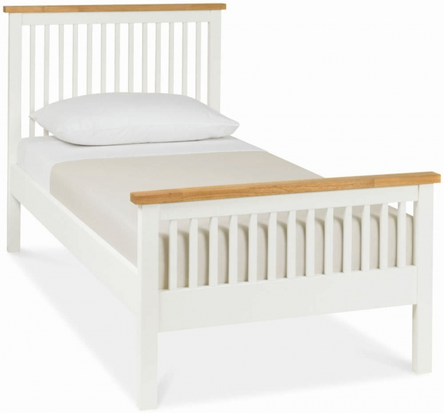 Bentley Designs Atlanta Two Tone Bedstead - High Foot End