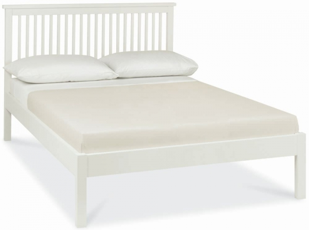 Bentley Designs Atlanta White Bedstead - 3ft Single Low Foot End