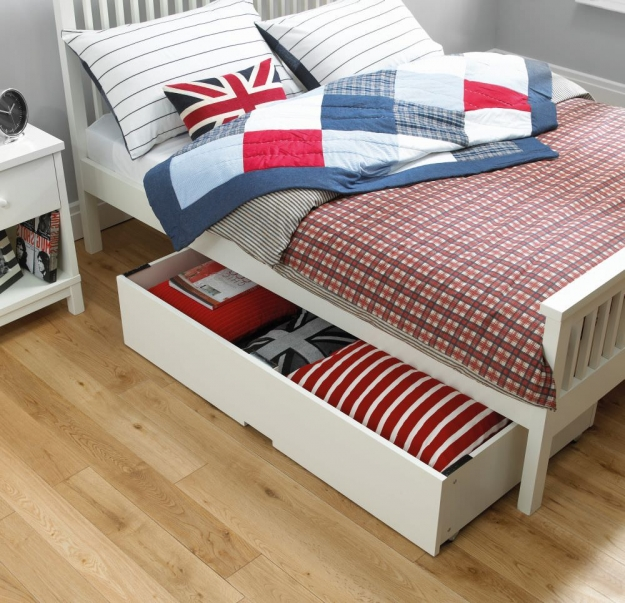 Bentley Designs Atlanta Soft White Underbed Drawer