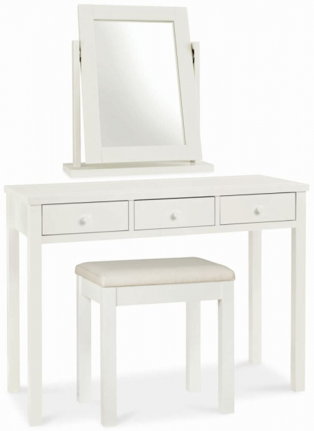 Merveilleux Bentley Designs Atlanta Soft White Dressing Table