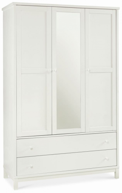 Bentley Designs Atlanta White Bedroom Set with Low Foot End Bed