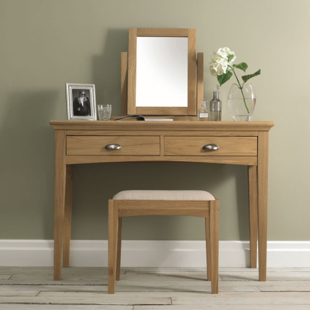 Bentley Designs Hampstead Oak Dressing Table