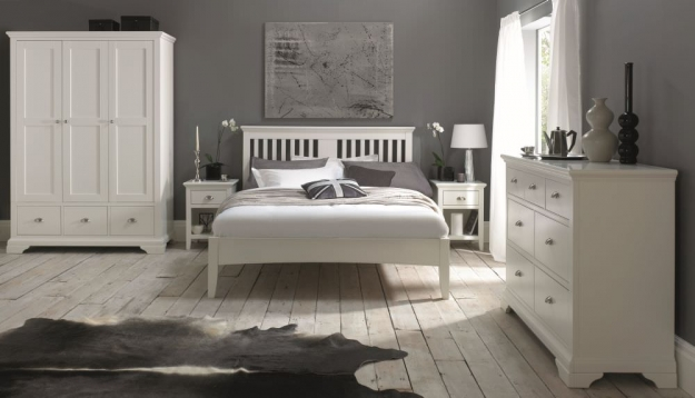 Bentley Designs Hampstead White Bedstead