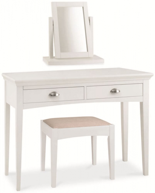 Bentley Designs Hampstead White Vanity Mirror