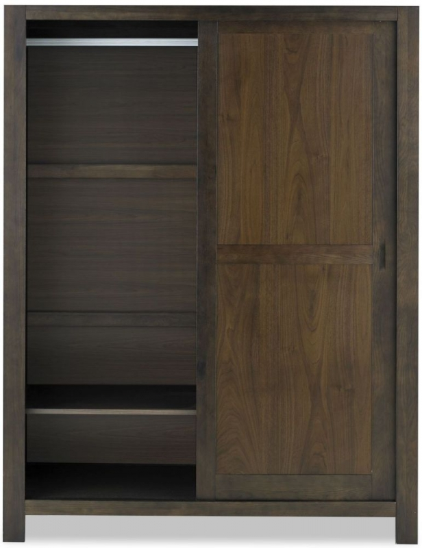 Bentley Designs Lyon Walnut Sliding Wardrobe