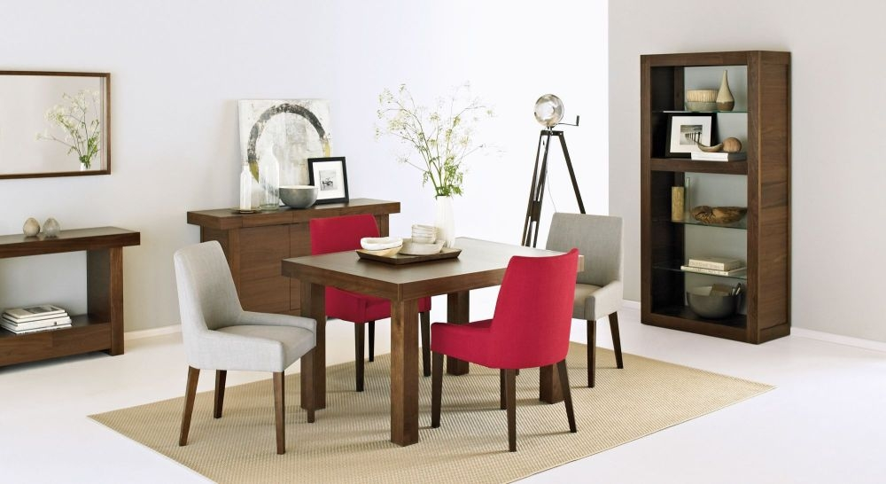 Buy Bentley Designs Akita Walnut Dining Table 4 6 Seater  : 3Bentley Designs Akita Walnut Dining Table 4 6 Seater End Extending 07 from choicefurnituresuperstore.co.uk size 1000 x 546 jpeg 182kB