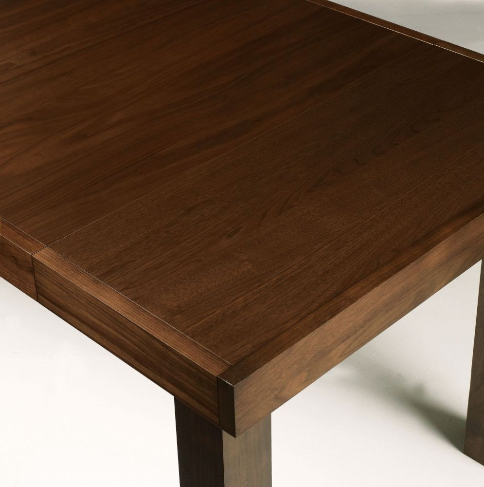 Buy Bentley Designs Akita Walnut Dining Table 6 8 Seater  : 3Bentley Designs Akita Walnut Dining Table 6 8 Seater End Extending 02 from choicefurnituresuperstore.co.uk size 995 x 1000 jpeg 284kB