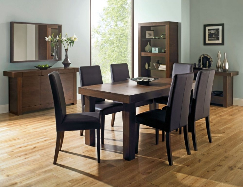 Bentley Designs Akita Walnut Dining Table