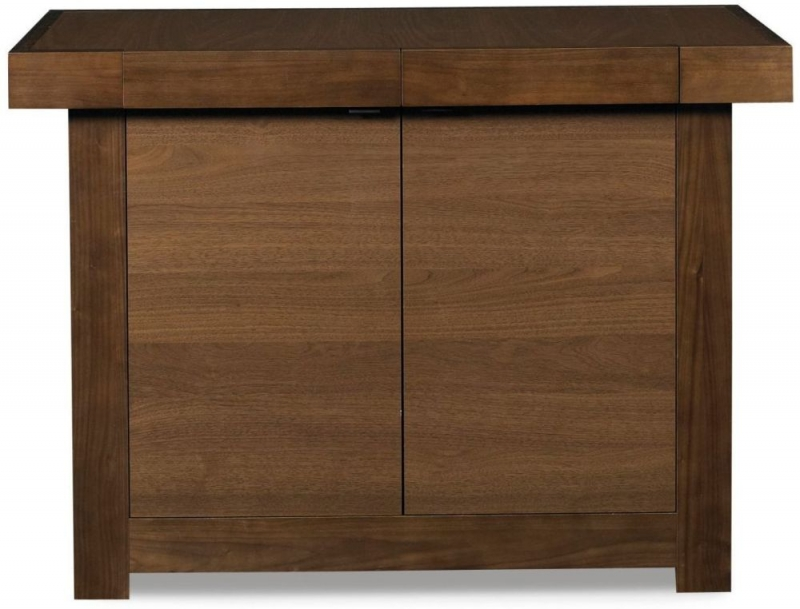 Bentley Designs Akita Walnut Sideboard - Narrow