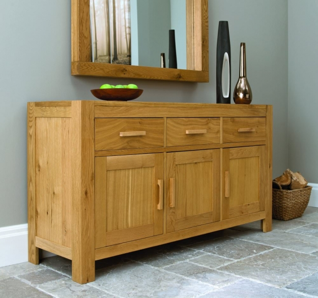 Bentley Designs Lyon Oak Sideboard - 160cm