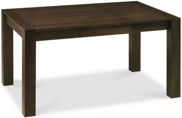 Bentley Designs Lyon Walnut Dining Table - Small End Extending