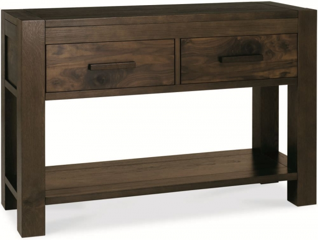 Bentley Designs Lyon Walnut Console Table