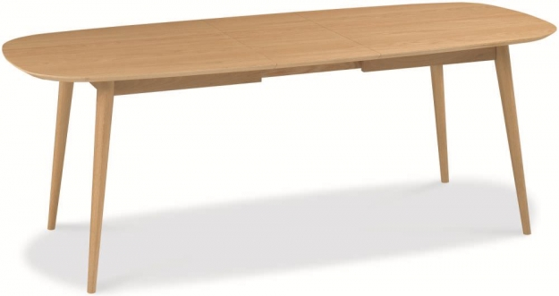 Bentley Designs Oslo Oak Dining Table - 6-8 Extending