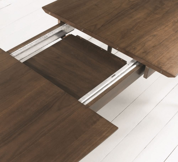 Bentley Designs Oslo Walnut Dining Table - 6-8 Extending