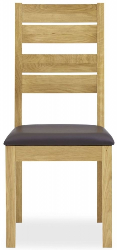 Bentley Designs Provence Oak Dining Chair - Slatted (Pair)