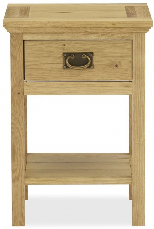 Bentley Designs Provence Oak Lamp Table