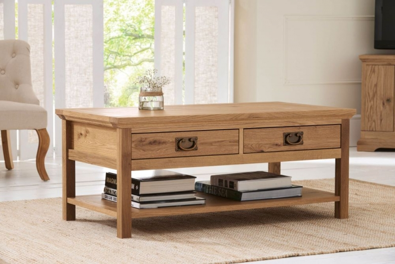 Bentley Designs Provence Oak Coffee Table