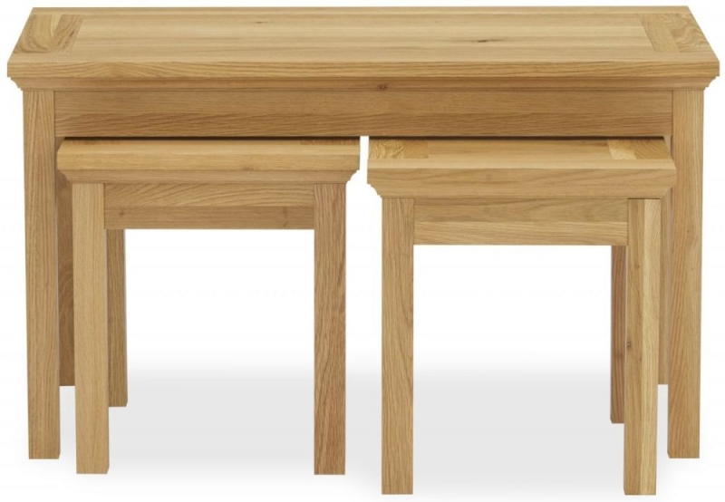Bentley Designs Provence Oak Nest of Coffee Table