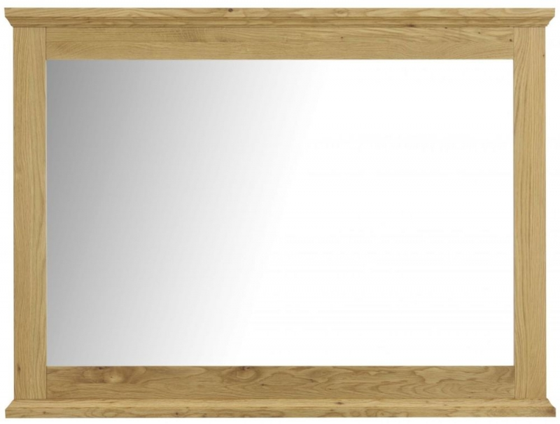 Bentley Designs Provence Oak Wall Mirror - Wide