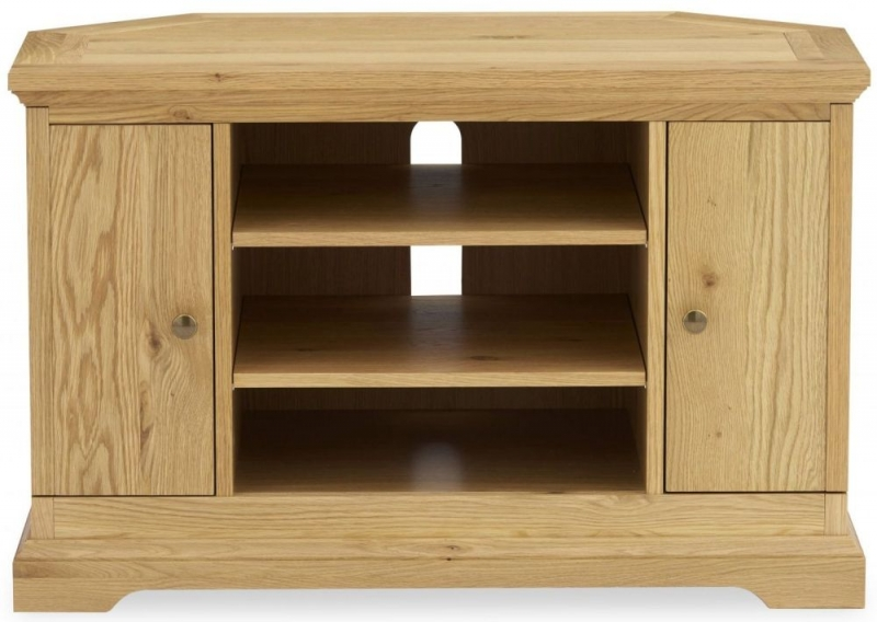 Bentley Designs Provence Oak TV Unit - Corner