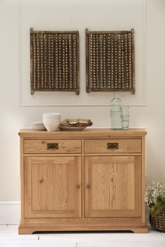 Bentley Designs Provence Oak Sideboard - Narrow