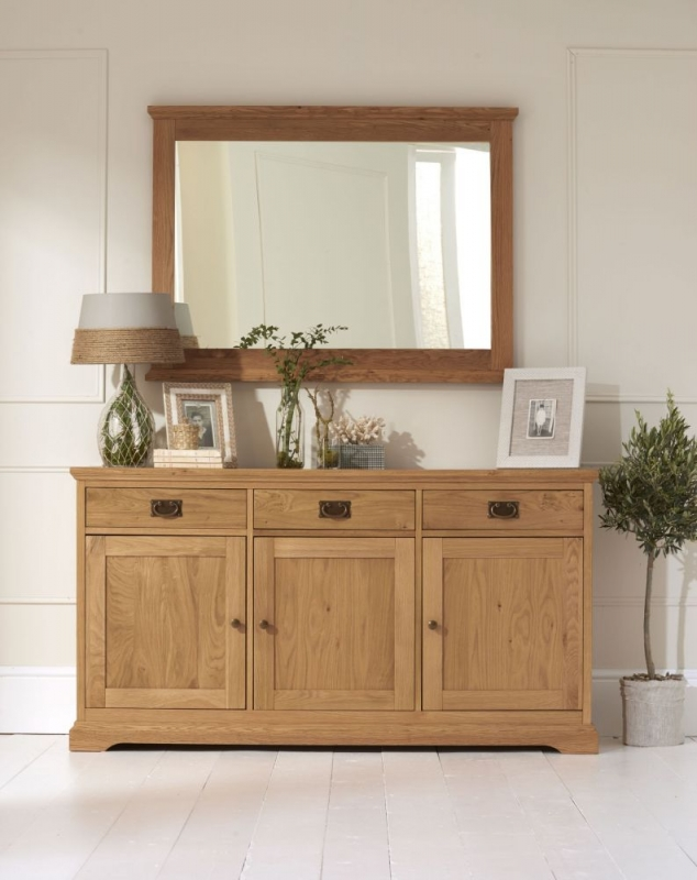 Bentley Designs Provence Oak Sideboard - Wide
