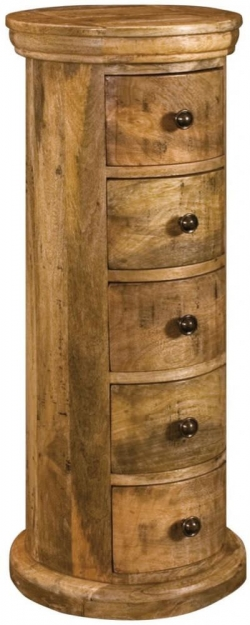 Granary Royale Chest of Drawer - Drum Slim 5 Drawers