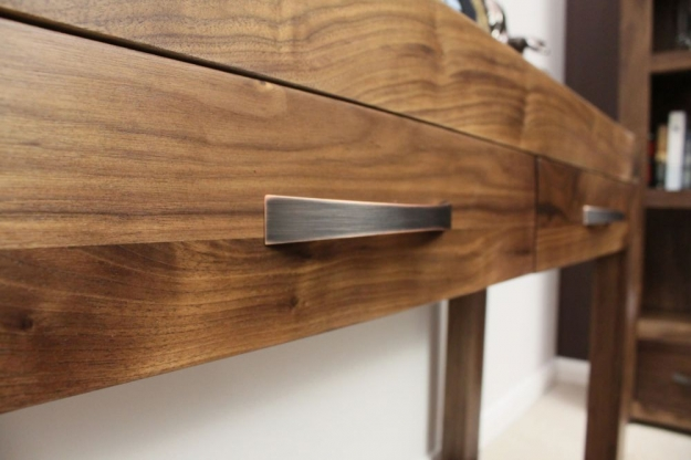 Baumhaus Shiro Walnut Console Table