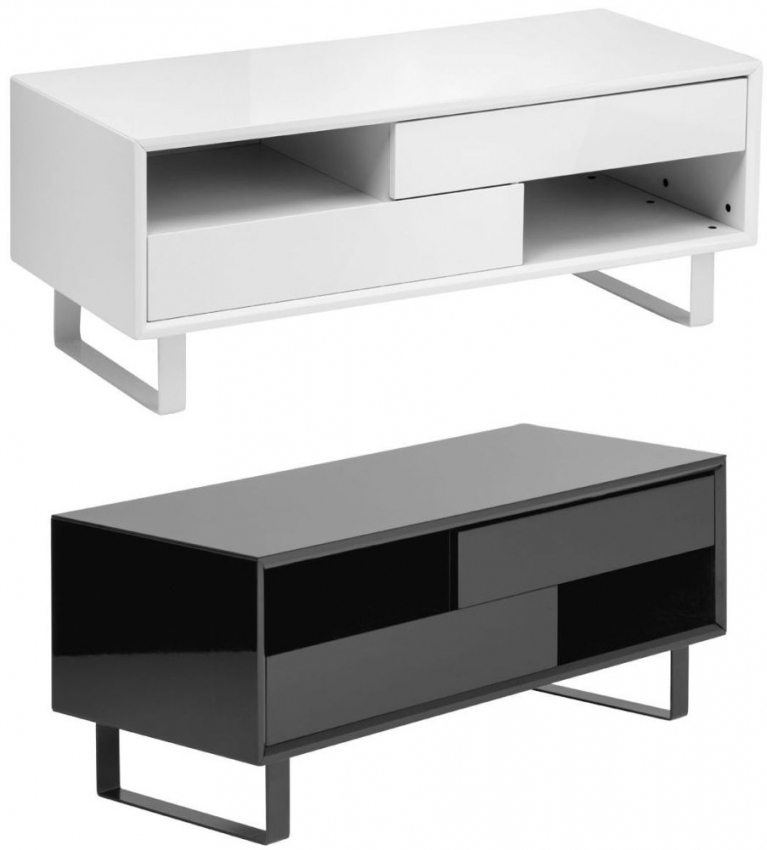 Moritz White High Gloss Coffee Table