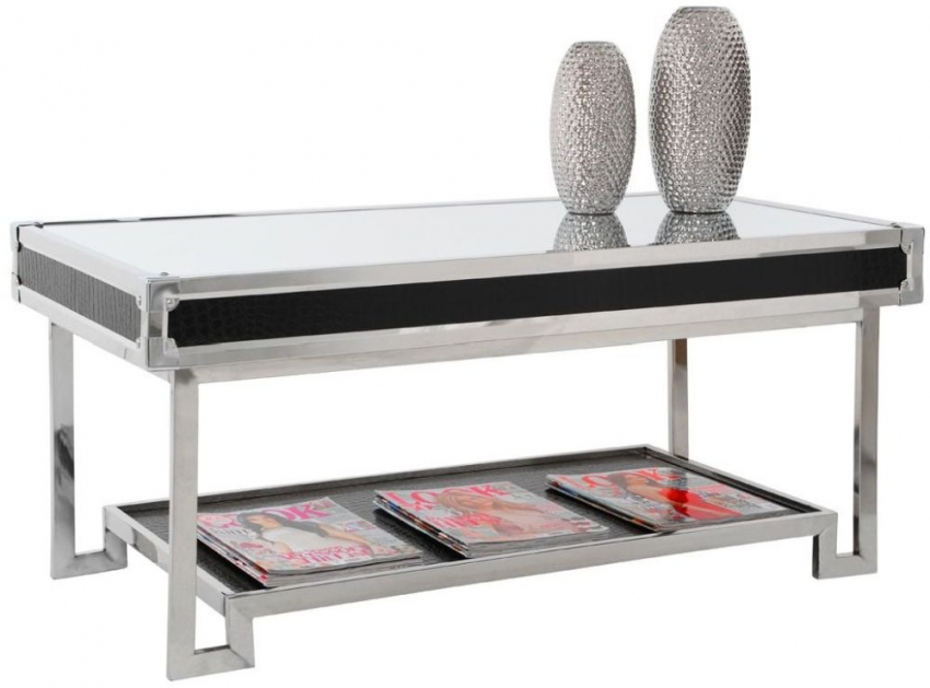 Crocodile Stainless Steel Coffee Table