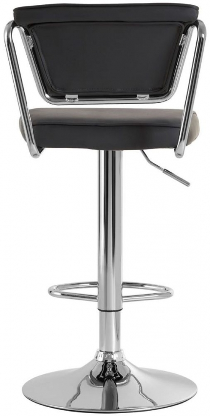 Tilly Grey Faux Leather Bar Chair (Pair)