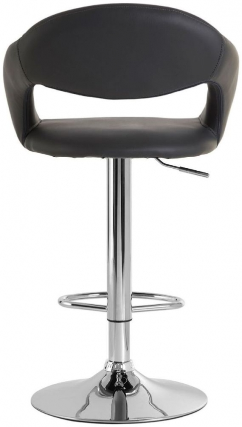 Taylor Grey Faux Leather Bar Chair (Pair)