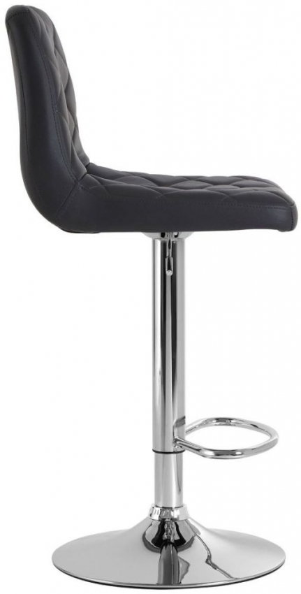 Tara Grey Faux Leather Bar Chair (Pair)