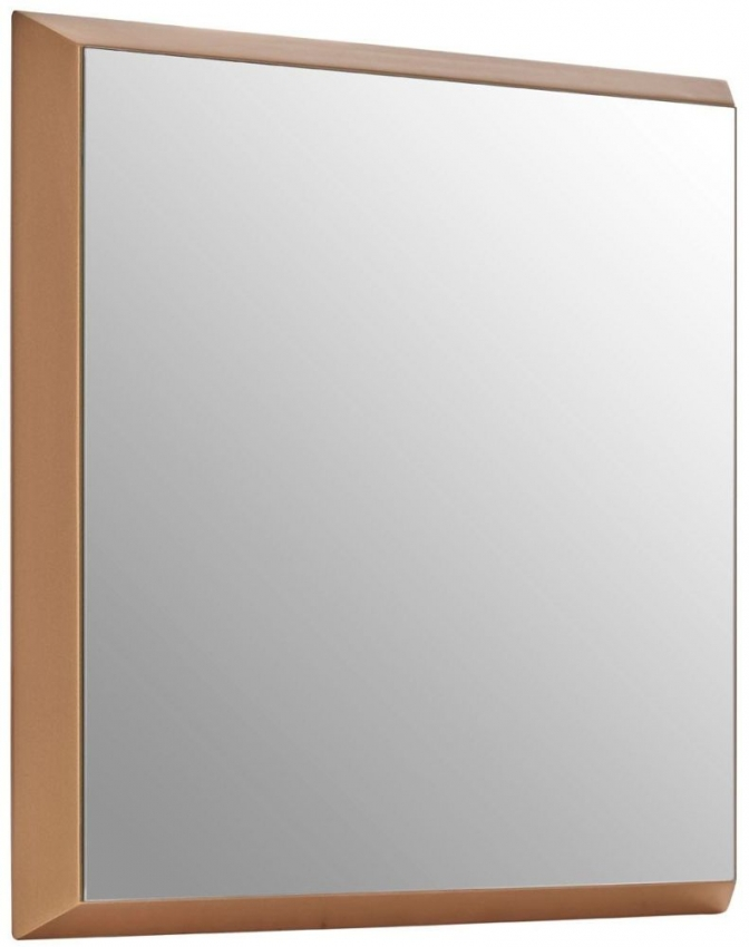 Gold Small Square Wall Mirror