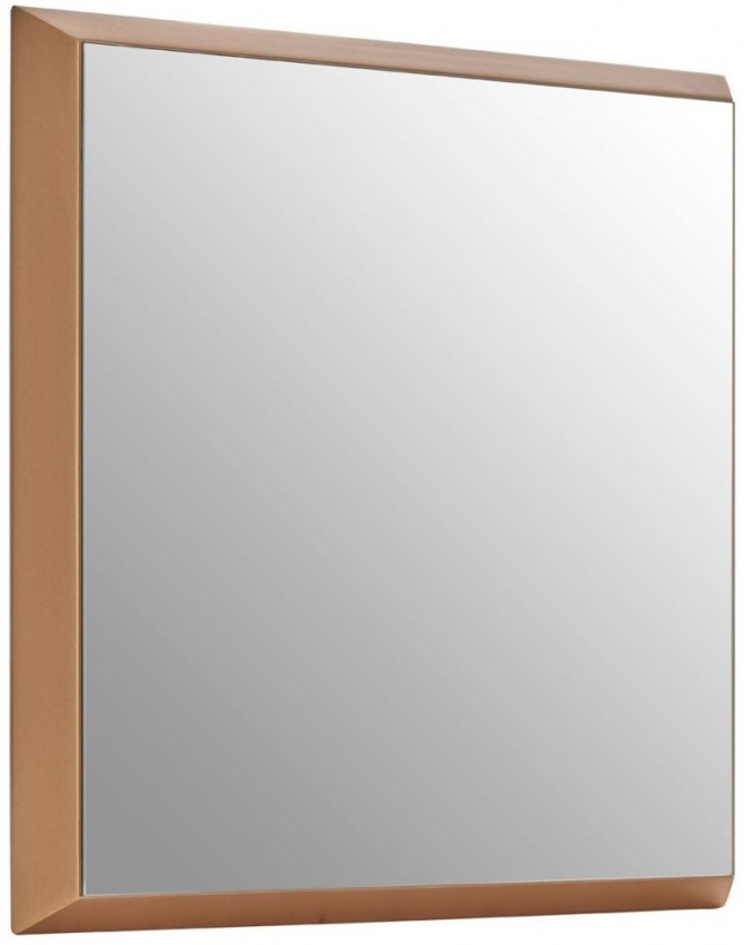 Gold Large Square Wall Mirror