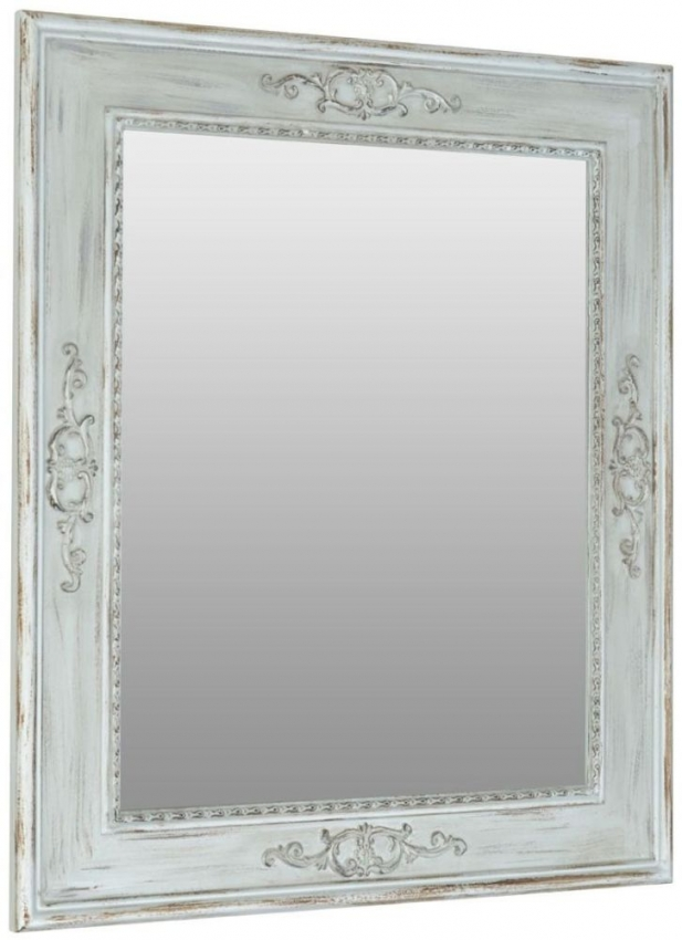Sunny Natural Rectangular Wall Mirror