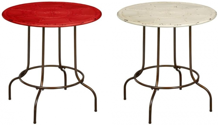 Artisan Red Occasional Table