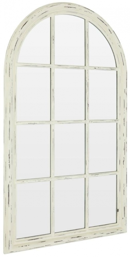 Stacie Natural Arch Wall Mirror - 80cm x 136cm