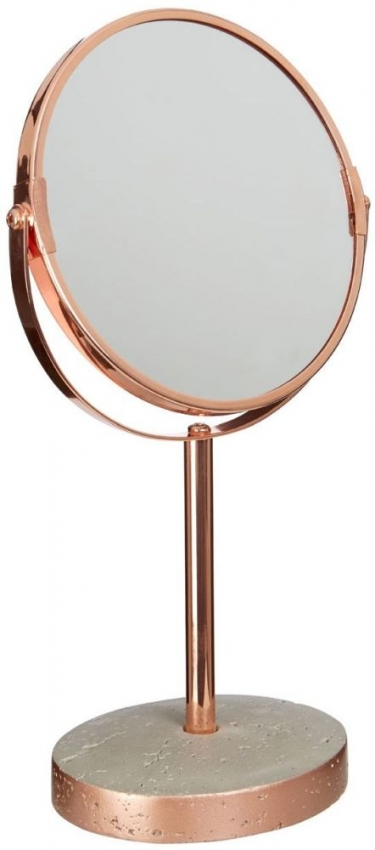 Neptune Grey Round Swivel Bathroom Mirror