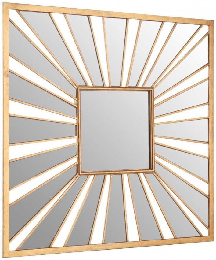 Zariah Sunburst Effect Wall Mirror