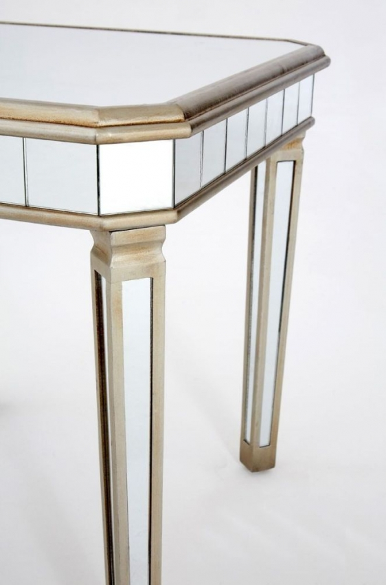 Tiffany Mirrored Side Table