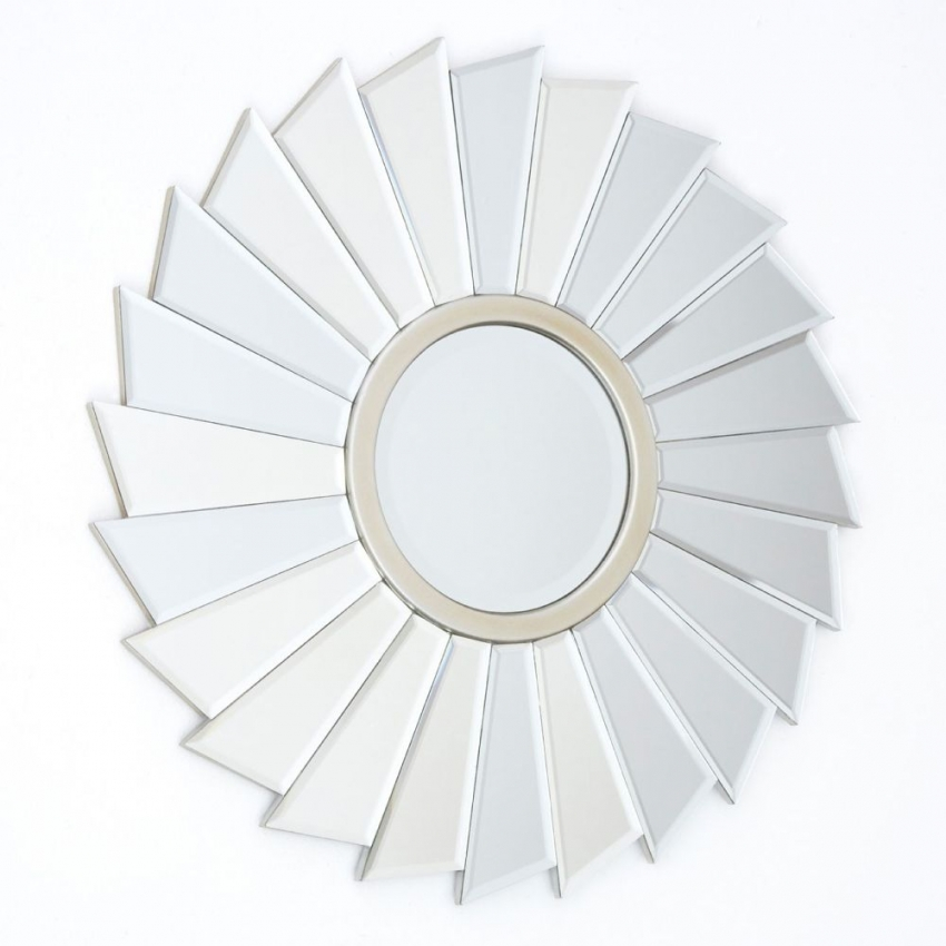 Tiffany Round Wall Mirror
