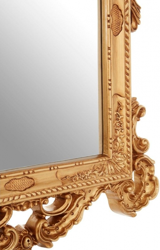 Italianette Gold Rectangular Wall Mirror