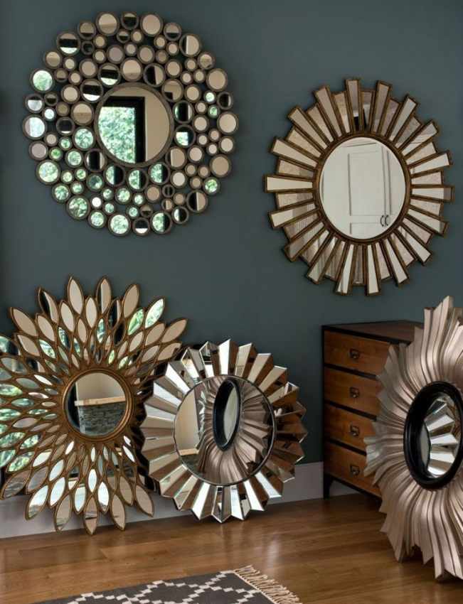 Greco Gold Wall Mirror