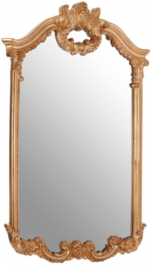 Grace Gold Wall Mirror