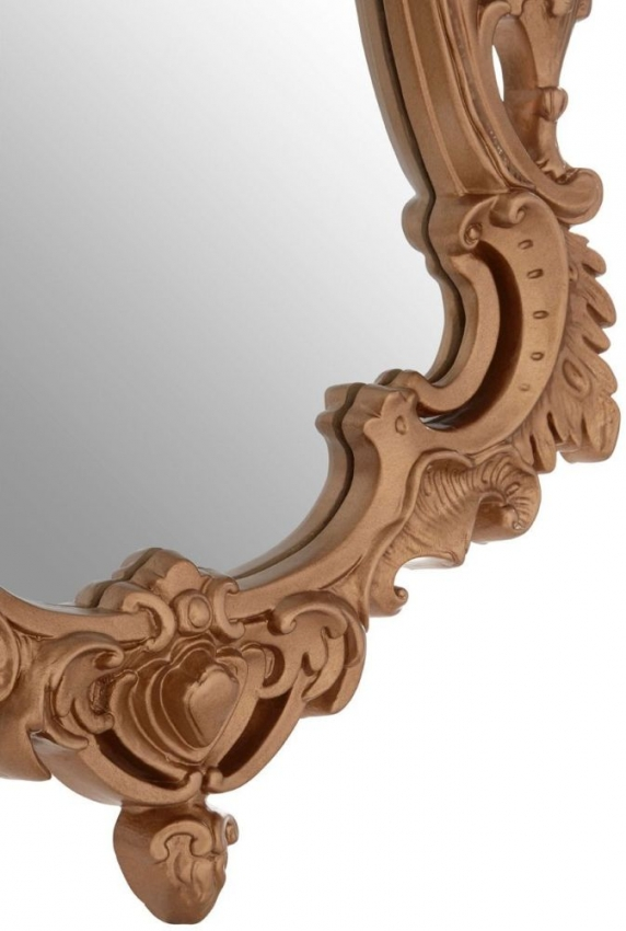 Neo Classical Gold Wall Mirror - 69cm x 106cm