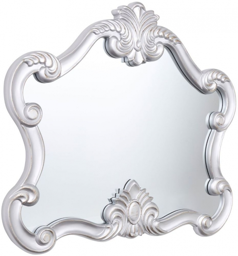 Harriet Silver Wall Mirror - 109cm x 97cm