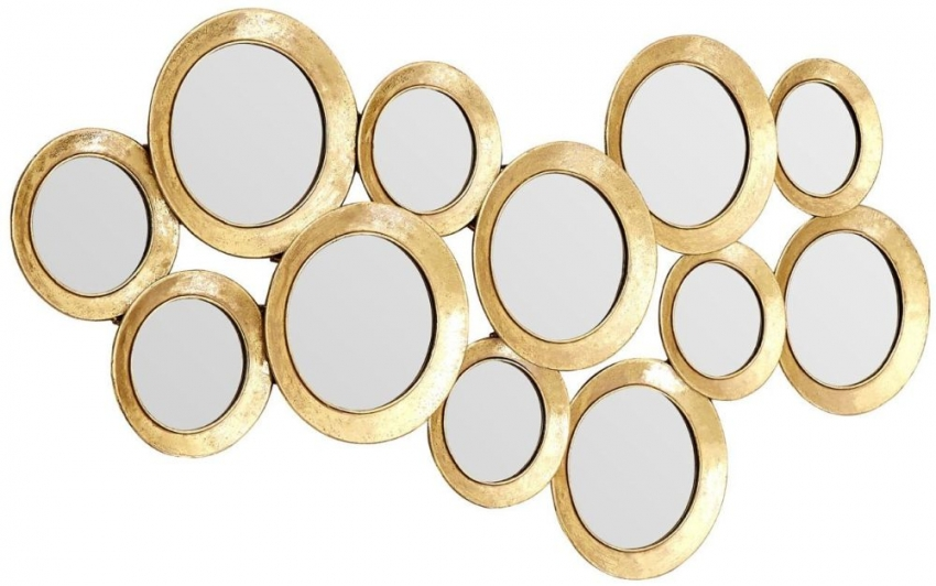 Marcia Multi Circle Wall Mirror