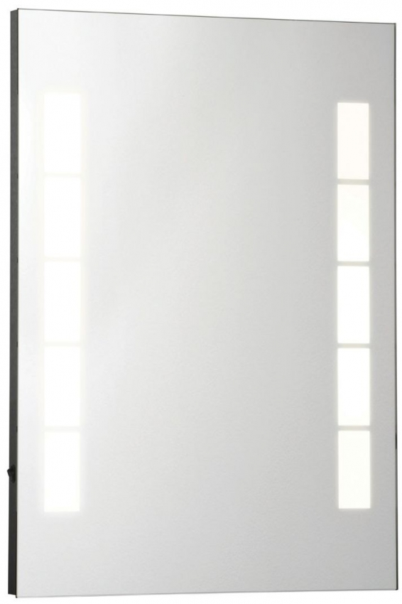 Malana Illuminated Rectangular Wall Mirror - 50cm x 70cm
